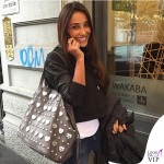 Juliana Moreira Mia Bag Shopper Taupe cuore Tiffany