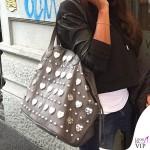 Juliana Moreira Mia Bag Shopper Taupe cuore Tiffany 2
