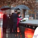 Kate Middleton New York 9_11 Memorial cappotto Mulberry fucsia 2