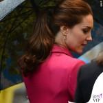 Kate Middleton New York 9_11 Memorial cappotto Mulberry fucsia 3