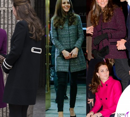 Kate Middleton New York cappotti