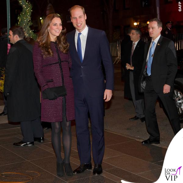 Kate Middleton New York cappotto Seraphine Marina pre maman 3
