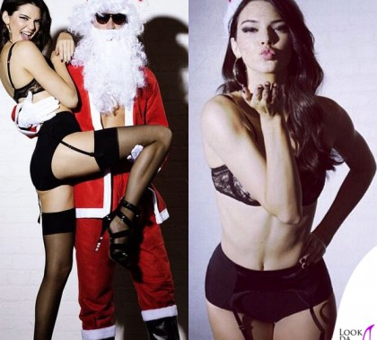 Kendall Jenner Advent Calendar Love Magazine gonna sandali Philipp Plein lingerie Victoria's Secret 15