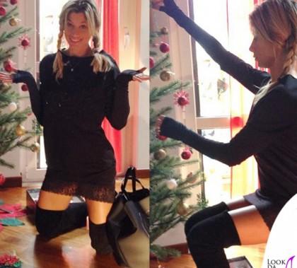 Maddalena Corvaglia abito borsa Paola T