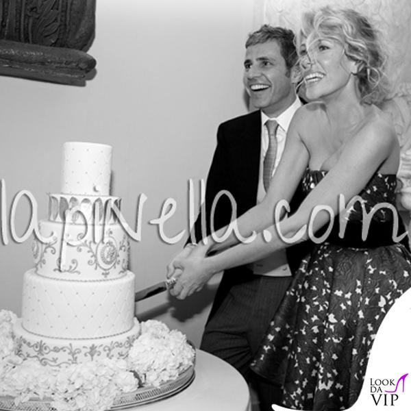 Matrimonio Alessia Marcuzzi Paolo Calabresi Marconi Londra abito Gianbattista Valli 3