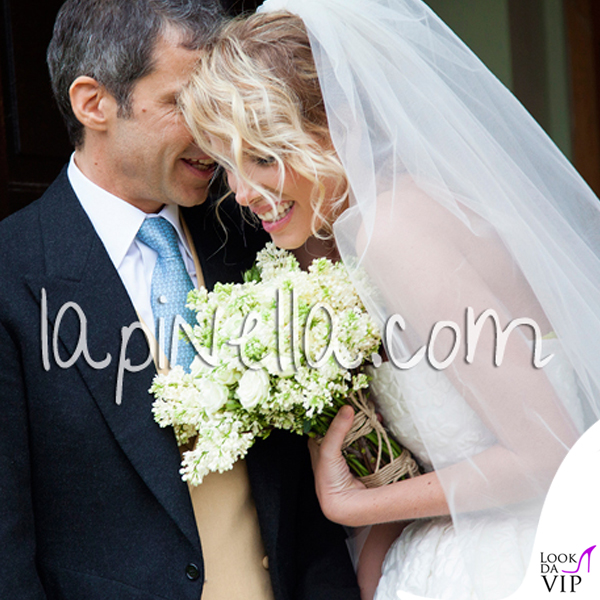 Matrimonio Alessia Marcuzzi Paolo Calabresi Marconi Londra abito Gianbattista Valli scarpe Jimmy Choo 2