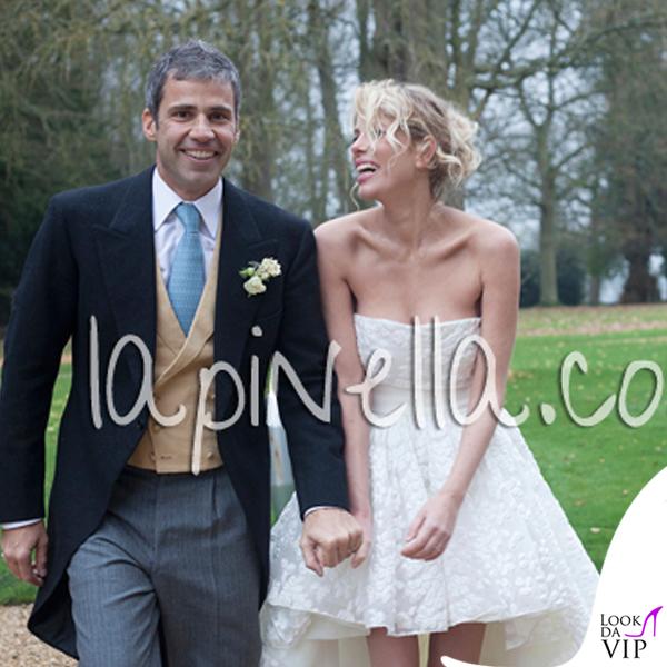 Matrimonio Alessia Marcuzzi Paolo Calabresi Marconi Londra abito Gianbattista Valli scarpe Jimmy Choo 5