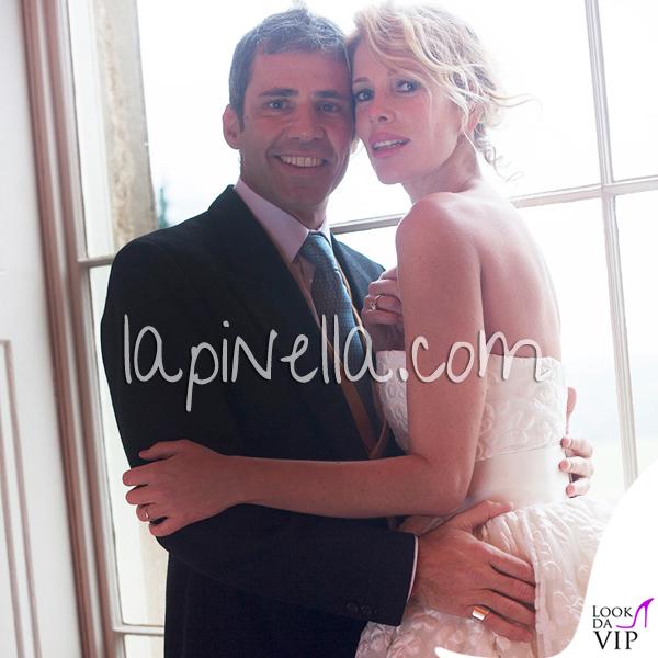 Matrimonio Alessia Marcuzzi Paolo Calabresi Marconi Londra abito Gianbattista Valli scarpe Jimmy Choo 6