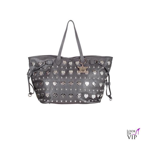 Mia Bag Shopper Taupe cuore Tiffany