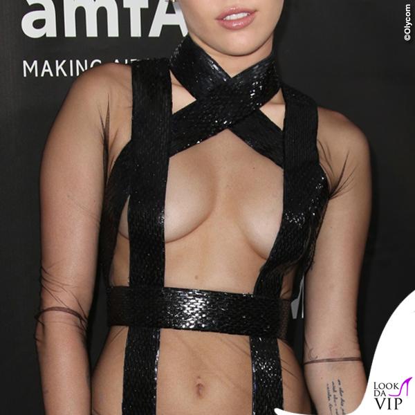 Miley Cyrus amfAR Inspiration Gala Hollywood abito Tom Ford 3