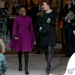 New York Chirlane McCray Kate Middleton cappotto Goat Washington nero 3