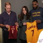 New York Principe William Kate Middleton cappottoTory Burch Bettina grigio LeBron James 2