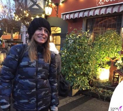 Paola Perego Amburgo piumino Blauer
