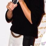 Victoria Beckham British Fashion Awards maglione gonna Victoria Beckham scarpe Manolo Blanik 6
