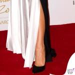 Victoria Beckham British Fashion Awards maglione gonna Victoria Beckham scarpe Manolo Blanik 8