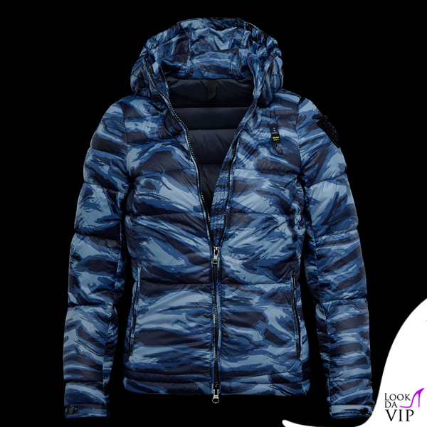new products 9d162 fec43 piumino Blauer CAMOUFLAGE - Look da Vip
