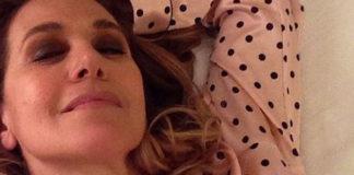 Barbara d'Urso pigiama Victoria's Secret