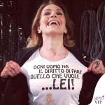 Barbara d'Urso tshirt Tip&Top