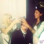 Belen Rodriguez capelli castani 10