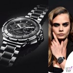 Cara Delevingne testimonial Tag Heuer cronografo TAG Heuer Formula 1 Lady Steel&Ceramic&Diamond 11