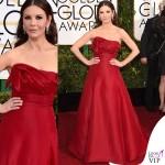 Golden Globe 2015 Catherine Zeta-Jones abito Angels Sanchez
