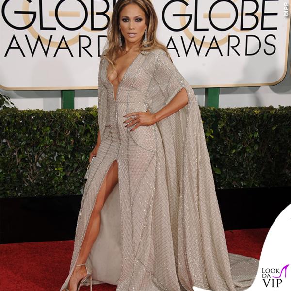 Golden Globe 2015 Jennifer Lopez abito Zuhair Murad 4
