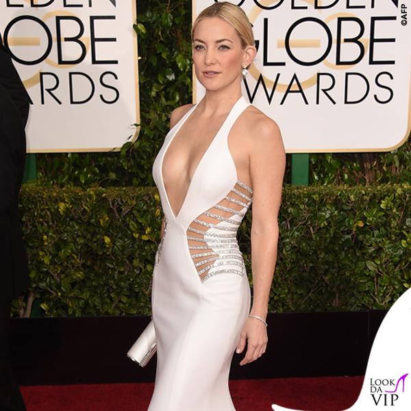 Golden Globe 2015 Kate Hudson abito Versace
