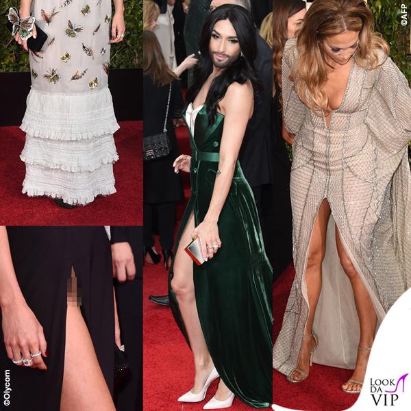 Golden Globe 2015 Keira Knightley Katie Cassidy Conchita Wurst Jennifer Lopez