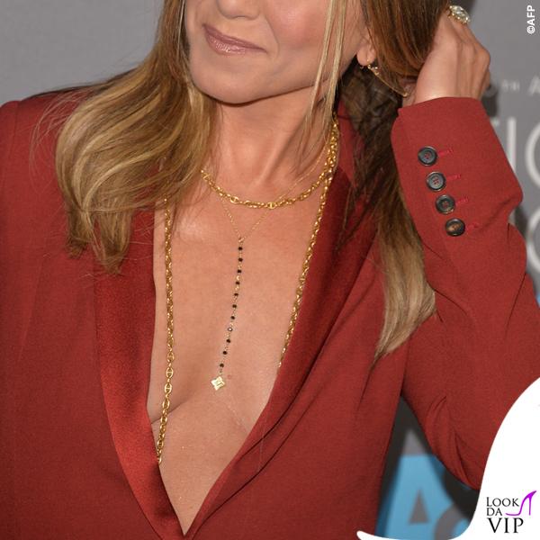 Jennifer Aniston Critics' Choice Awards tailleur Gucci 2