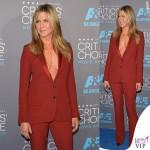 Jennifer Aniston Critics' Choice Awards tailleur Gucci 3