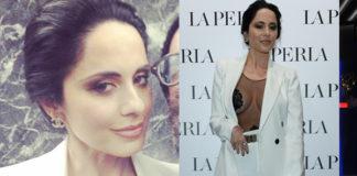 Paola Iezzi body La Perla tailleur Armani Privè orecchini Chanel 4