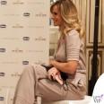 Serena Autieri Chicco di Felicità tuta Luisa Beccaria borsa Coccinelle 2