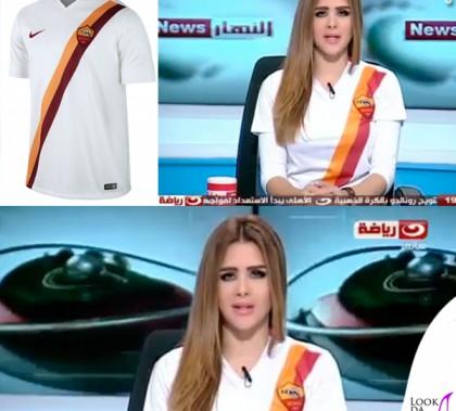Shima Seba Al Nahar News maglia Nike Roma