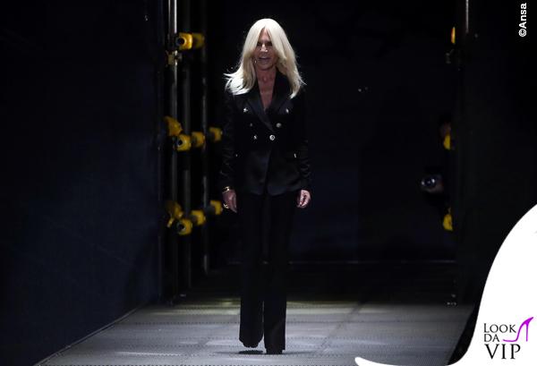 MIlan fashion week: Versace