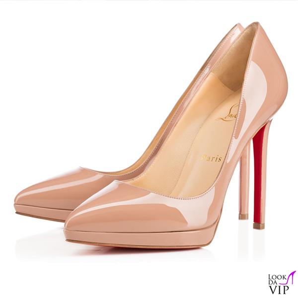 scarpe Christian Louboutin Pigalle Plato Patent