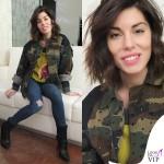 Bianca Atzei maglione giacca Antonio Marras 2