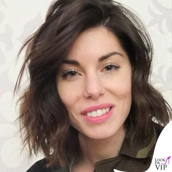 Bianca Atzei maglione giacca Antonio Marras 3
