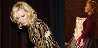 Cate Blanchett Cinderella premiere total Givenchy Cinderella Disney scarpe Salvatore Ferragamo