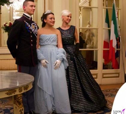 Cenerentola per un giorno Carla Gozzi abito Luisa Beccaria Anna Borrelli abito Luigi Borbone 2