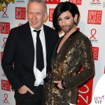 Conchita Wurst Sidaction Gala Dinner abito Jean Paul Gaultier 2