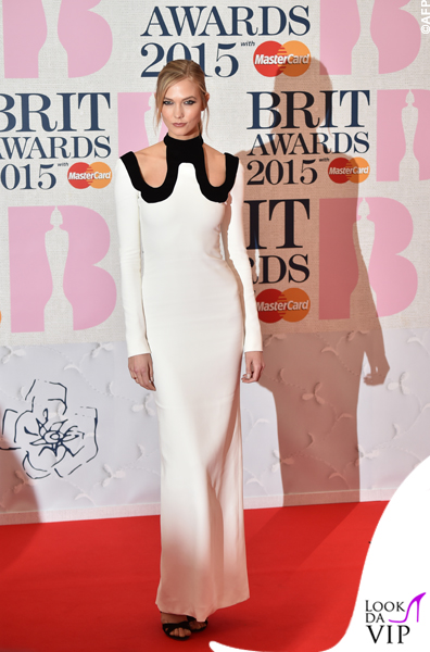 Karlie Kloss veste Tom Ford Brit 2015
