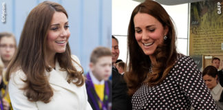Kate Middleton Portsmouth cappotto Max Mara abito Alice Temperley scarpe Jimmy Choo