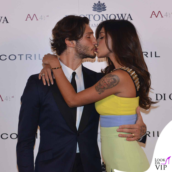 One night in New York Martorana 41 compleanno Stefano De Martino Belen Rodriguez abito Fausto Puglisi