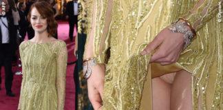 Oscar 2015 Emma Stone abito Elie Saab