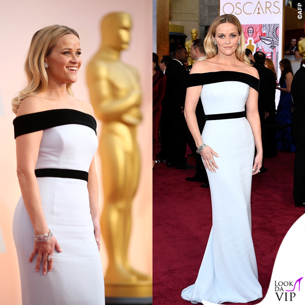 Oscar 2015 Reese Witherspoon abito Tom Ford 2