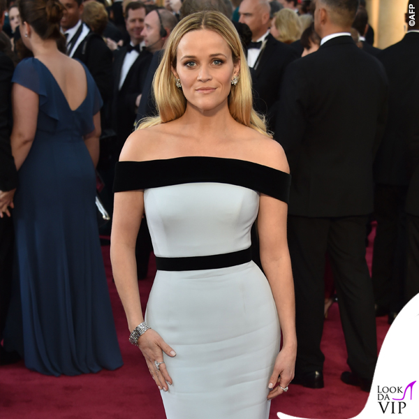 Oscar 2015 Reese Witherspoon abito Tom Ford