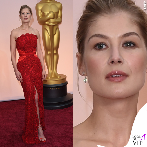 Oscar 2015 Rosamund Pike abito Givenchy Haute Couture