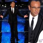 Sanremo 2015 2 serata Carlo Conti abito Salvatore Ferragamo 2