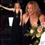 Sanremo 2015 2 serata Charlize Theron abito Jenny Packham 2