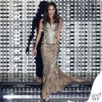 Sanremo 2015 2 serata Rocio Munoz Morales abito Roberto Cavalli